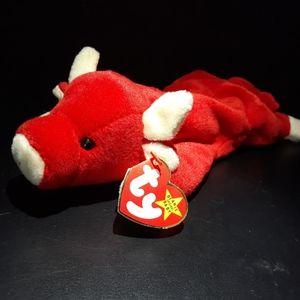Red Bull Beanie Baby: Snort